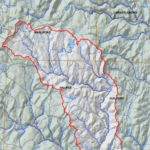 Green River Watershed Map 2017
